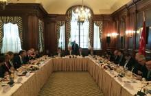 Davutoğlu ve Hisarcıklıoğlu New York'da ABD'nin önde gelen şirketlerinin CEO'larıyla biraraya geldi