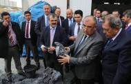 Bakan Alaboyun Nevşehir'de Boren Bor Optik'i Ziyaret Etti