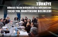 Türkiye Küresel İklim Değişikliği ile Mücadelede 2030 Yol Haritasını Belirledi