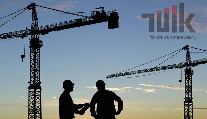 İnşaat Sektöründe Ciro Yüzde 1,0 Azaldı
