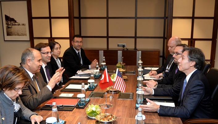 Bakan Alaboyun, ABD Dışişleri Bakan Yardımcısı Blinken ile Görüştü