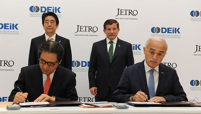DEİK ve JETRO, Türk ve Japon Başbakanı'nı İstanbul'da Ağırladı