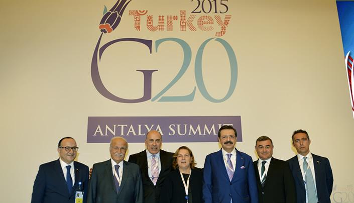 G20 Deklarasyonunu Türk Özel Sektörü Olarak Destekliyoruz