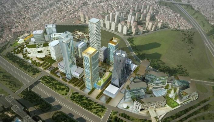 İstanbul Uluslararası Finans Merkezi Çalışmaları Devam Ediyor