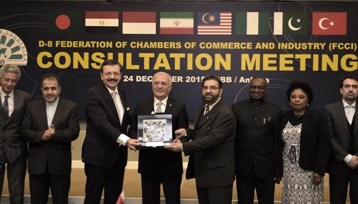 D-8 Ticaret ve Sanayi Odaları Federasyonu İstişare Toplantısı