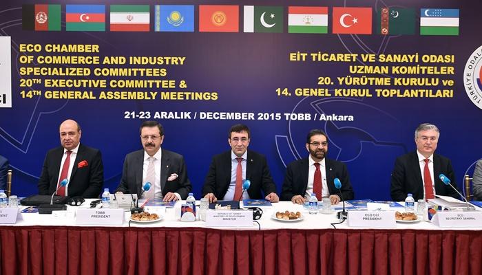 Ekonomik İşbirliği Teşkilatı Ticaret ve Sanayi Odası 20. Yürütme Kurulu Toplantısı