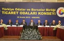 Ticaret Odaları Konsey Toplantısı