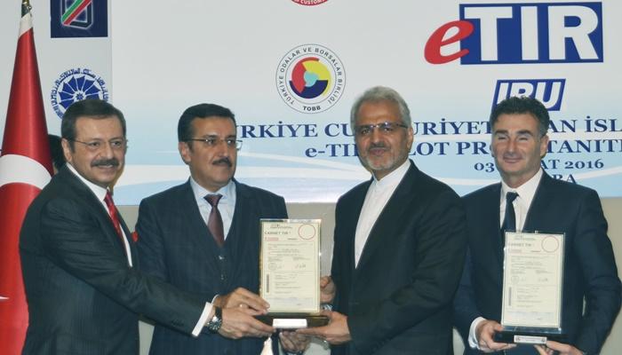 Türkiye-İran e-TIR Pilot Projesi Tanıtımı