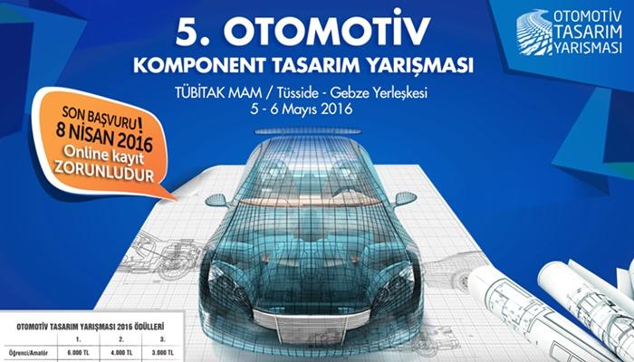 5. Otomotiv Komponent Tasarım Yarışması