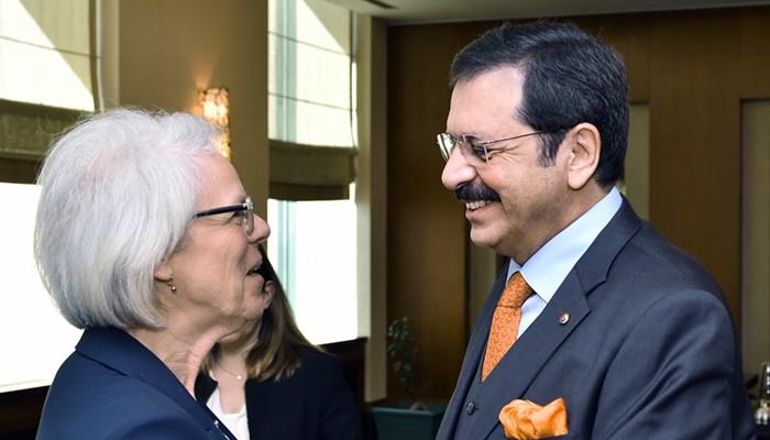 Türkiye - AB KİK Eş Başkanı Wezel TOBB'da