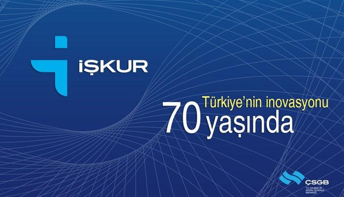 Türkiye İş Kurumu İŞKUR 70 Yaşında