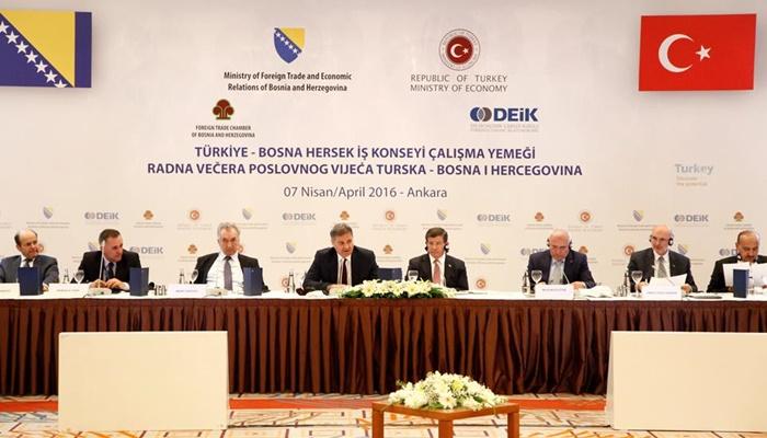 Türkiye Bosna Hersek İş Konseyi Toplantısı