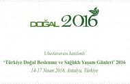 Türkiye Doğal Beslenme ve Sağlıklı Yaşam Günleri