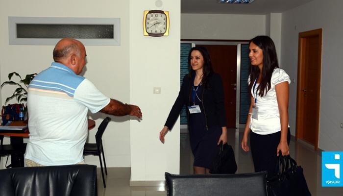 İŞKUR'dan İşyerlerine Ziyaret