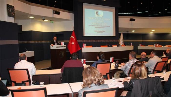KOBİ Gelişim Destek Programı KOBİGEL ASO'da Tanıtıldı