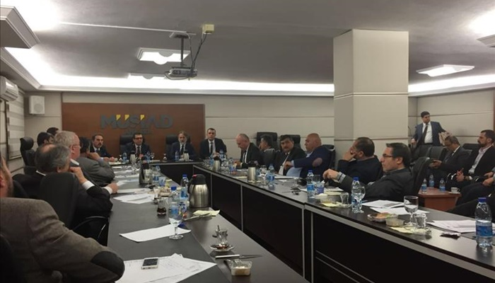 Ankara MÜSİAD Üyelerine KOSGEB Destekleri Anlatıldı
