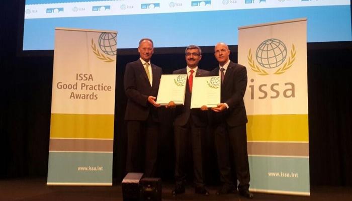 2016 ISSA Toplantısından SGK'ya Ödül