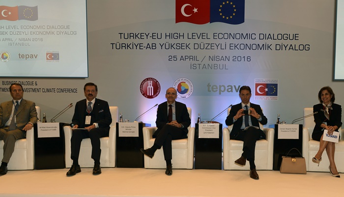 Türkiye - AB Yüksek Düzeyli Ekonomik Diyalog Toplantısı
