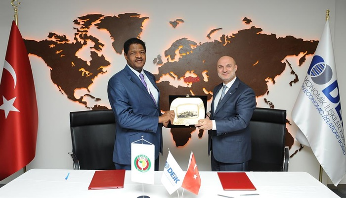 DEİK İle Batı Afrika Devletleri Ekonomi Topluluğu Arasında İşbirliği