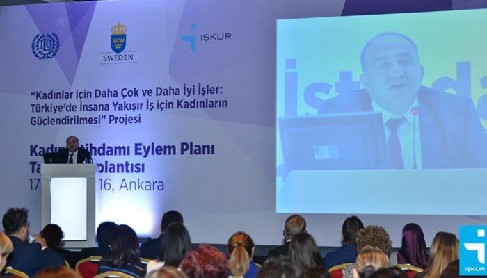 Türkiye'de İnsana Yakışır İş İçin Kadınların Güçlendirilmesi Projesi