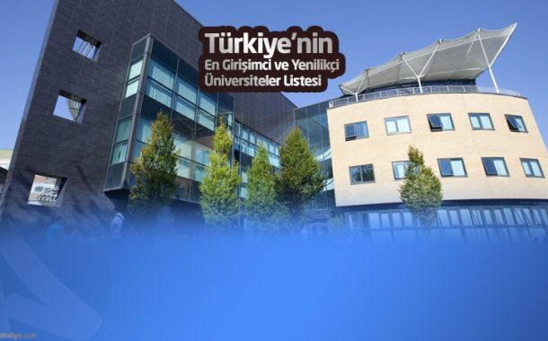 Türkiye'nin En Yenilikçi ve Girişimci Üniversiteleri Açıklandı