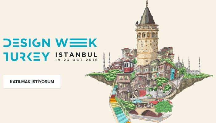 Türkiye Tasarım Haftası Başlıyor