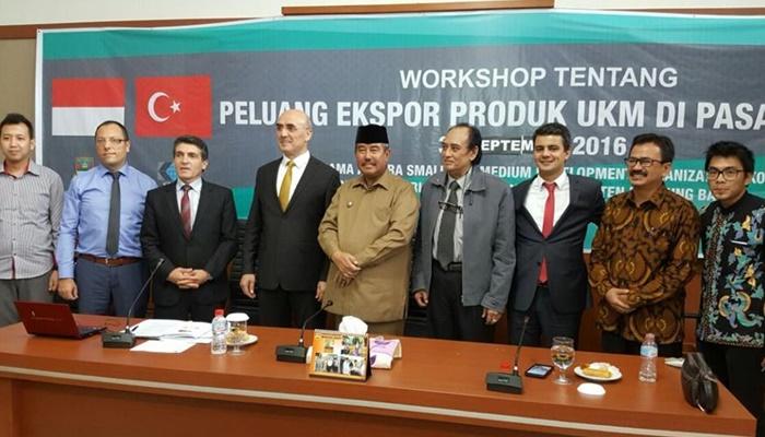 KOSGEB İle Endonezya Ticaret Odası Arasında Mutakabat Zaptı İmzalandı