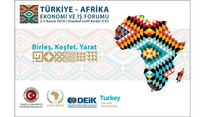 Türkiye-Afrika Ekonomi ve İş Forumu 2-3 Kasım Tarihlerinde Yapılacak