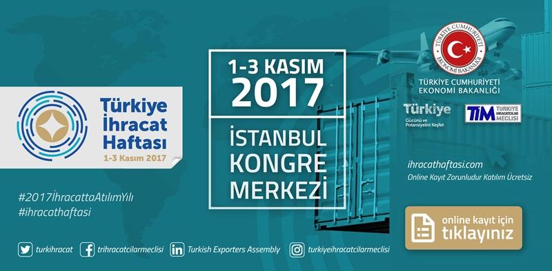 Türkiye İhracat Haftası Duyurusu
